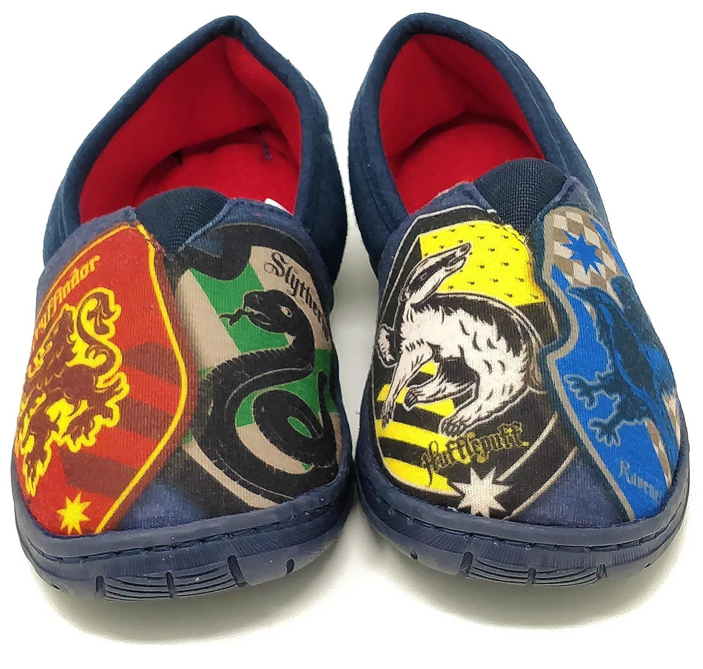 WILLIAM LAMB Chaussons pour Enfant Motif Harry Potter Poudlard Taille 38-40