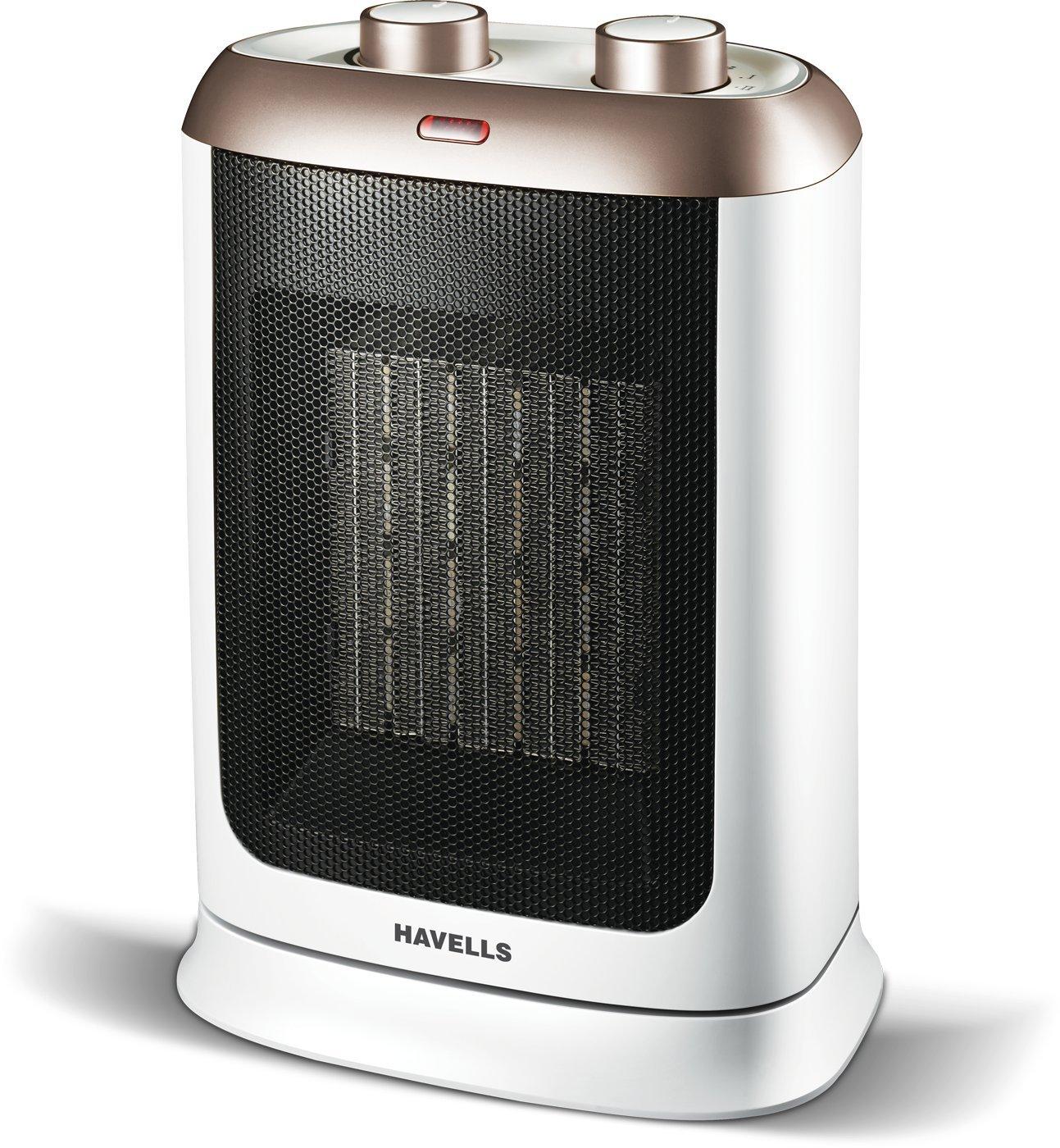 Havells Calido - Gold - 2000W, PTC Fan Heater