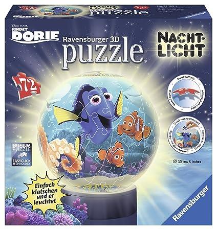 Ravensburger Puzzle Ball 3D mit Nachtlicht Puzzles & Geduldspiele