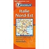 Carte RGIONAL Italie Nord-Est