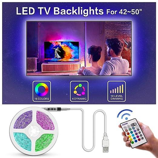 BASON USB LED TV Backlight Kit de 47 a 50 pulgadas, Bias ...