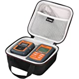 LTGEM for ThermoPro TP-07 / TP-08 Wireless Remote Digital Kitchen Cooking Meat Thermometer EVA Hard Case Travel Protective Carrying Storage Bag