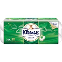 Kleenex Ultra Soft Scented Scented Bath Tissue, Aloe Vera, 200ct (Pack of 10)