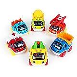 Baoli ミニカー くるまおもちゃ 電車 乗り物 建設車両 男の子(作業車セット)