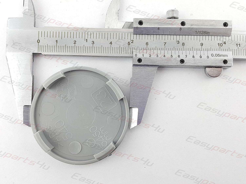 greitapigu.lt 4X Au/ßen 54 mm Innen 50 mm Nabenkappen A25-23 Felgendeckel Radnabendeckel Grau NoLogo
