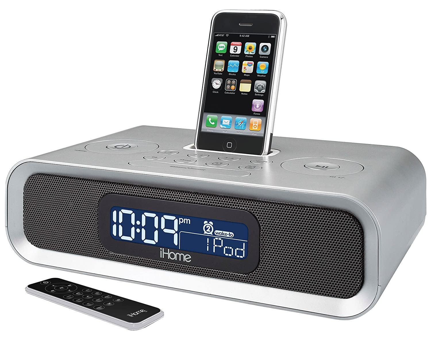 amazon com ihome ip97 dual alarm clock radio for ipod and iphone rh amazon com User Manual for iHome iHome Instruction Manual