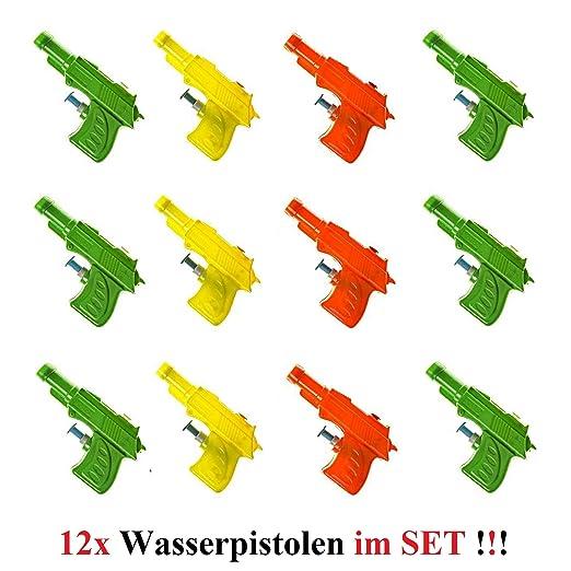 Lg-Imports - Pistola de Agua para niños, 9,5 cm, 12 Unidades ...