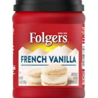 Folgers Flavors Coffee Ground, French Vanilla, 11.5 oz