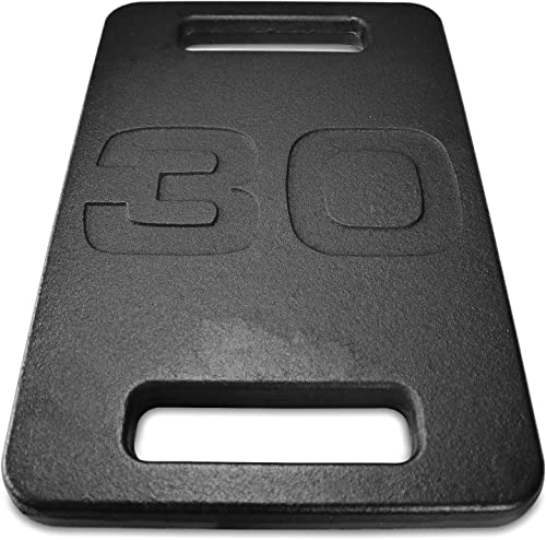 A2ZCARE Cast Iron Ruck Weight Ruck Plate for Swings, Squat, Strength Training, Fitness Workout and Home Exercises