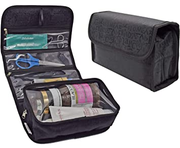 Amazon.com   UTRAX Travel Cosmetic Bag Roll Up Makeup Toiletry Bags Hanging  Jewelry Organizer   Beauty 91be25e60e0c9