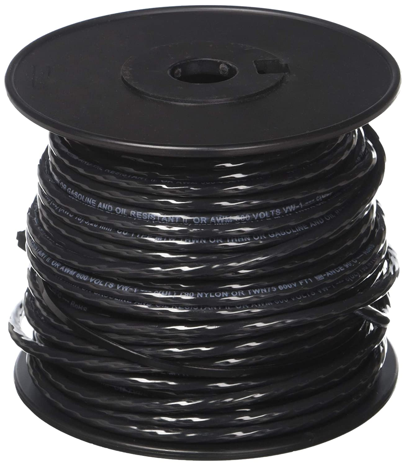 Building Wire, THHN, 10 AWG, Black, 100ft - Electrical Wires ...