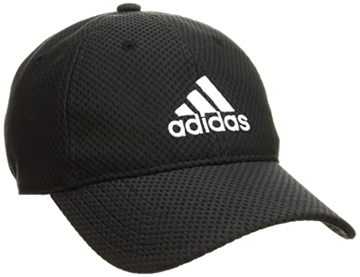76b2dee6ea6a5 Adidas Unisex Black C40 6 Panel Climacool Cap  Amazon.in  Clothing    Accessories
