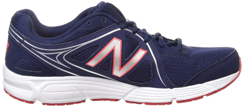 New Balance M390CN2, Chaussures de Running Compétition Homme - Bleu - Bleu - Bleu Marine/Blanc, 43 EU (9 UK)