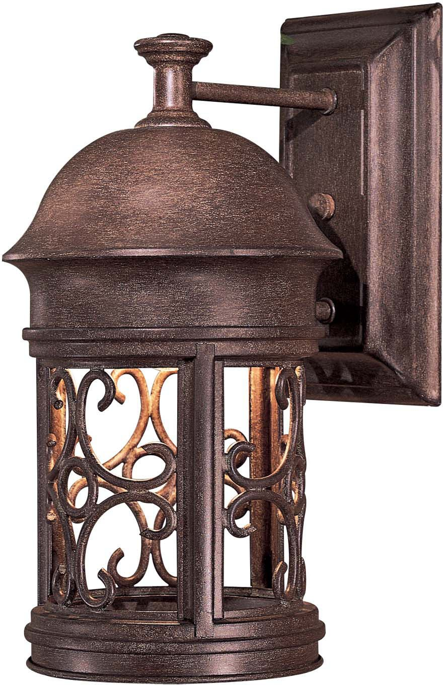 Minka Lavery Outdoor 8281 A61, Sage Ridge Dark Sky Outdoor Wall Sconce  Lighting, 60 Watts, Rust   Wall Porch Lights   Amazon.com