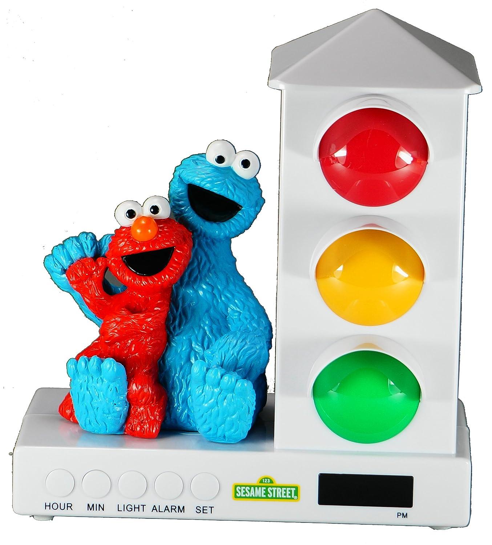 Red and Blue Sports Car Custom Quest IAT-102 Stoplight Sleep Enhancing Alarm Clock for Kids