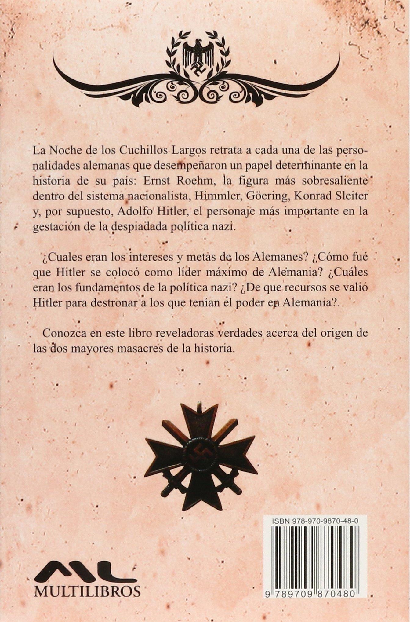NOCHE DE LOS CUCHILLOS LARGOS, LA: 9789709870480: Amazon.com ...