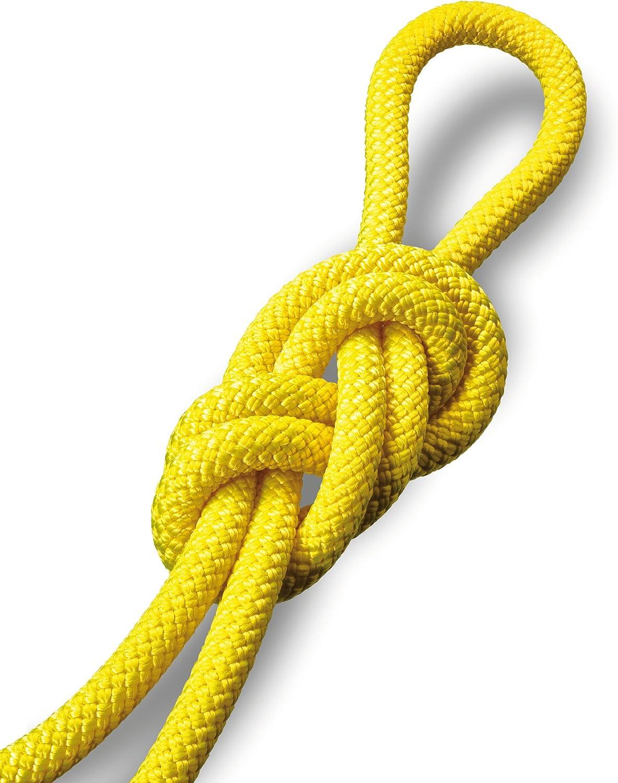 SALEWA Seil Double Rope 8 mm Cuerda, Unisex, Amarillo, 60 ...