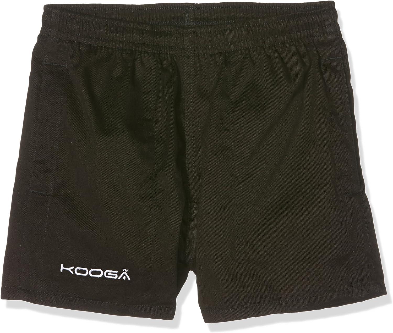 Schwarz 71cm KOOGA Junior Murrayfield Shorts