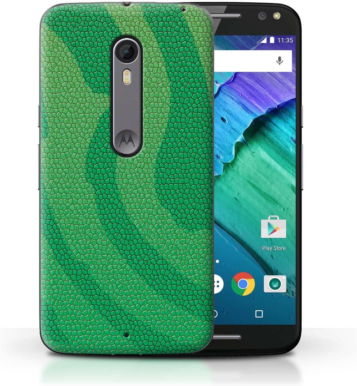 Stuff4® Phone Case/Cover/Skin/Moto-CC/Reptile Skin Effect ...