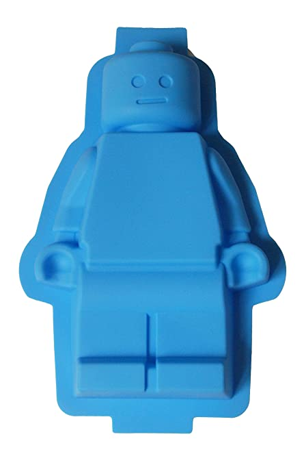 Character lego Silicone Cake Mould: Amazon.co.uk: Kitchen & Home
