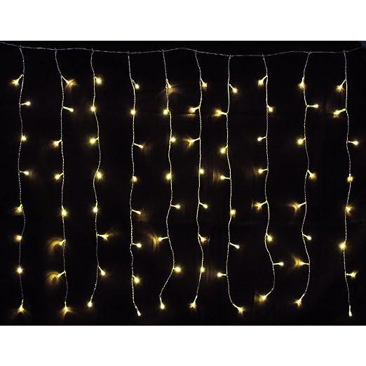 Bauhaus Weihnachtsbeleuchtung Aussen.160 Er Led Lichtervorhang Außen Innen Warmweiß Lichterkette