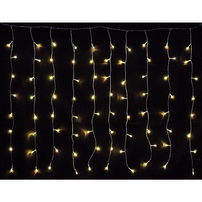 Bauhaus Baumarkt Weihnachtsbeleuchtung.160 Er Led Lichtervorhang Außen Innen Warmweiß Lichterkette