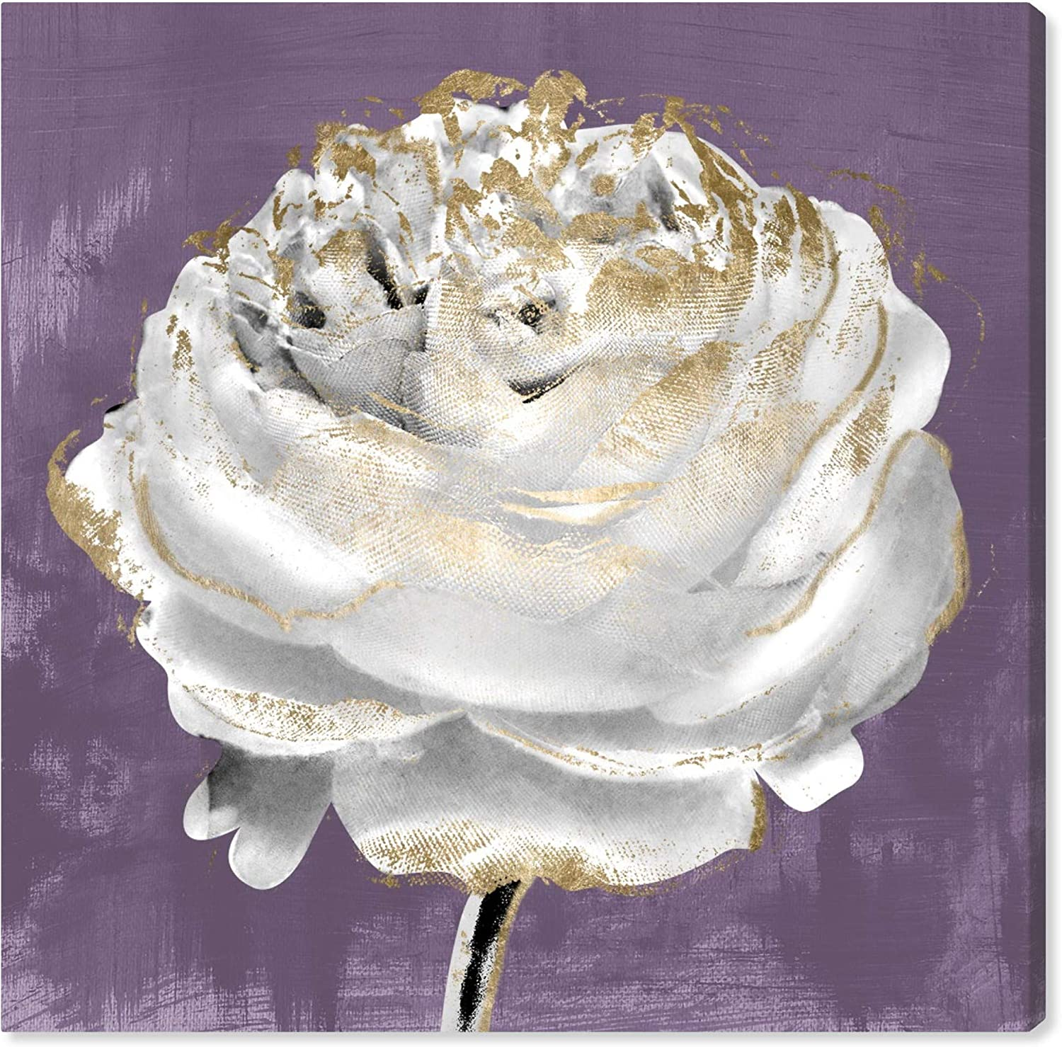 The Oliver Gal Artist Co. Floral Wall Art Canvas Prints 'Lilac Ranunculus' Home Décor, 30