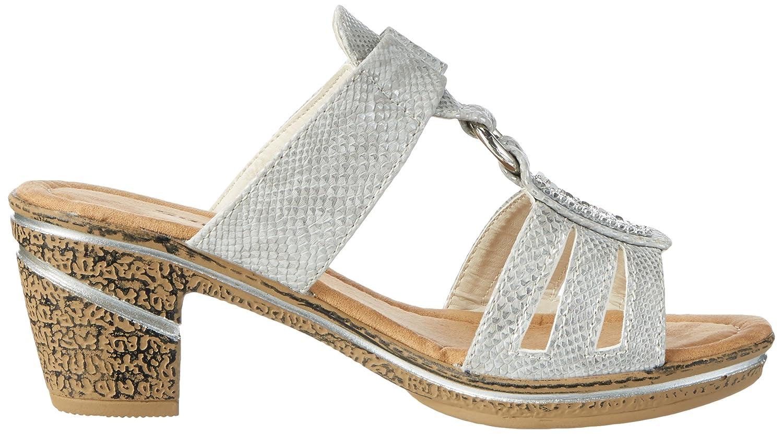 Supremo Damen 2720507 Pantoletten, Silber (Silver), 41 EU