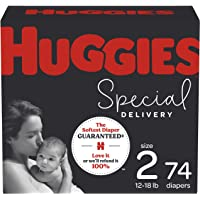 Huggies Special Delivery Hypoallergenic Baby Diapers Size 2, 74 Ct