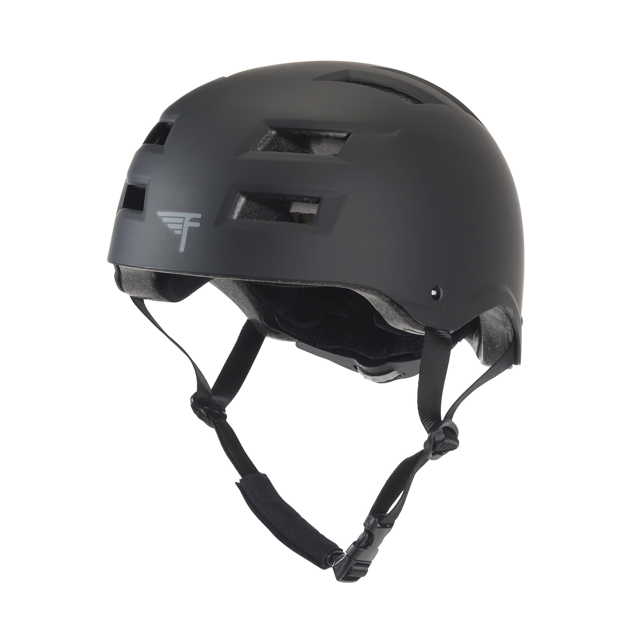 Flybar Protective Multi-Sport Adjustable Helmet,Black,S/M by Flybar