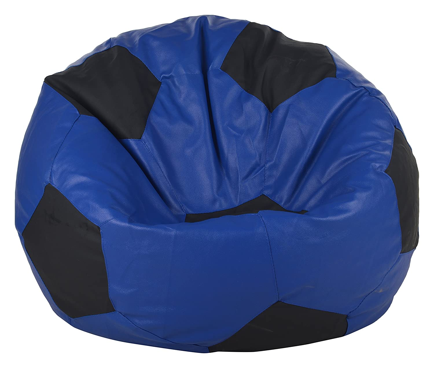 Pleasant Goodwill Living Room Bean Bag Blue And Black Amazon In Machost Co Dining Chair Design Ideas Machostcouk