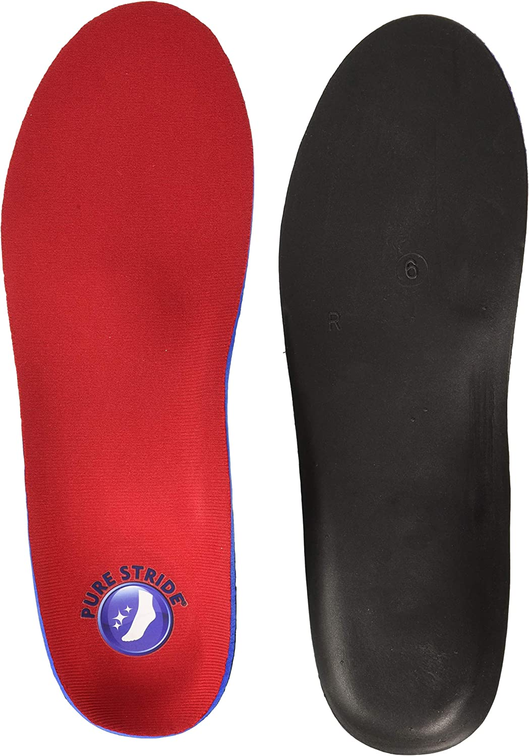 PURE STRIDE Full Length Orthotics Inserts Arch Support New All Sizes