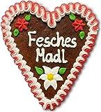 Lebkuchenherz, 16cm - Fesches Madl