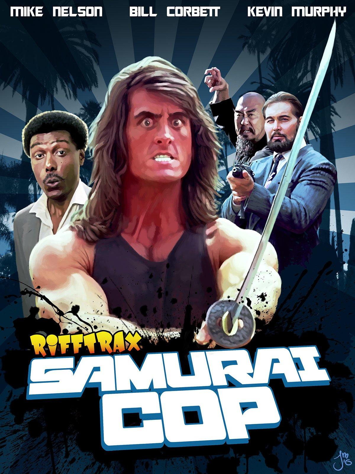 RiffTrax: Samurai Cop on Amazon Prime Video UK