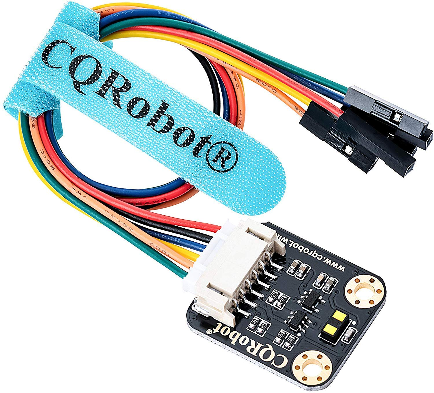 Detection Mode CQRobot VL53L1X Time-of-Flight UAV Smart Home. Long Distance Ranging Sensor for Raspberry Pi//Arduino//STM32 for Mobile Robot Camera I2C Interface Accurate Ranging Up to 4m ToF