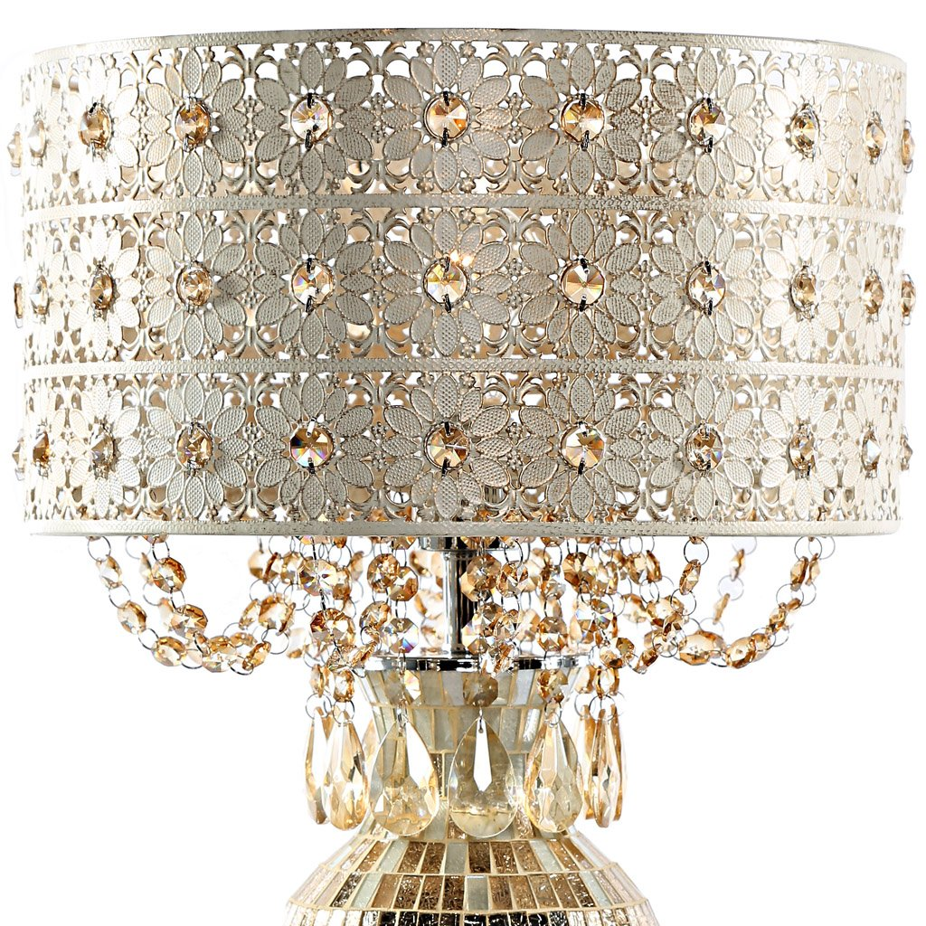 Poetic wanderlust by tracy porter solvang jeweled metal and mosaic poetic wanderlust by tracy porter solvang jeweled metal and mosaic base table lamp with cascading crystals amazon aloadofball Choice Image