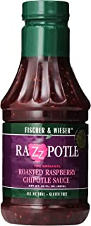 product image for Fischer & Wieser Razzpotle Roasted Raspberry Chipotle Sauce, 20-Ounce Bottles (Pack of 6)