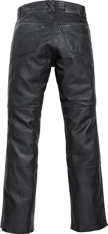 Spirit Motors Motorrad Jeans Motorradhose Motorradjeans Damen Klassik Lederjeans 1.0 Sommer Chopper//Cruiser