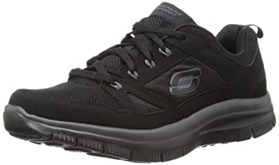 black skechers memory foam