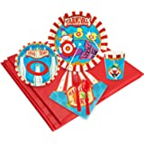 Carnival Games Party Supplies - Party Pack for 16