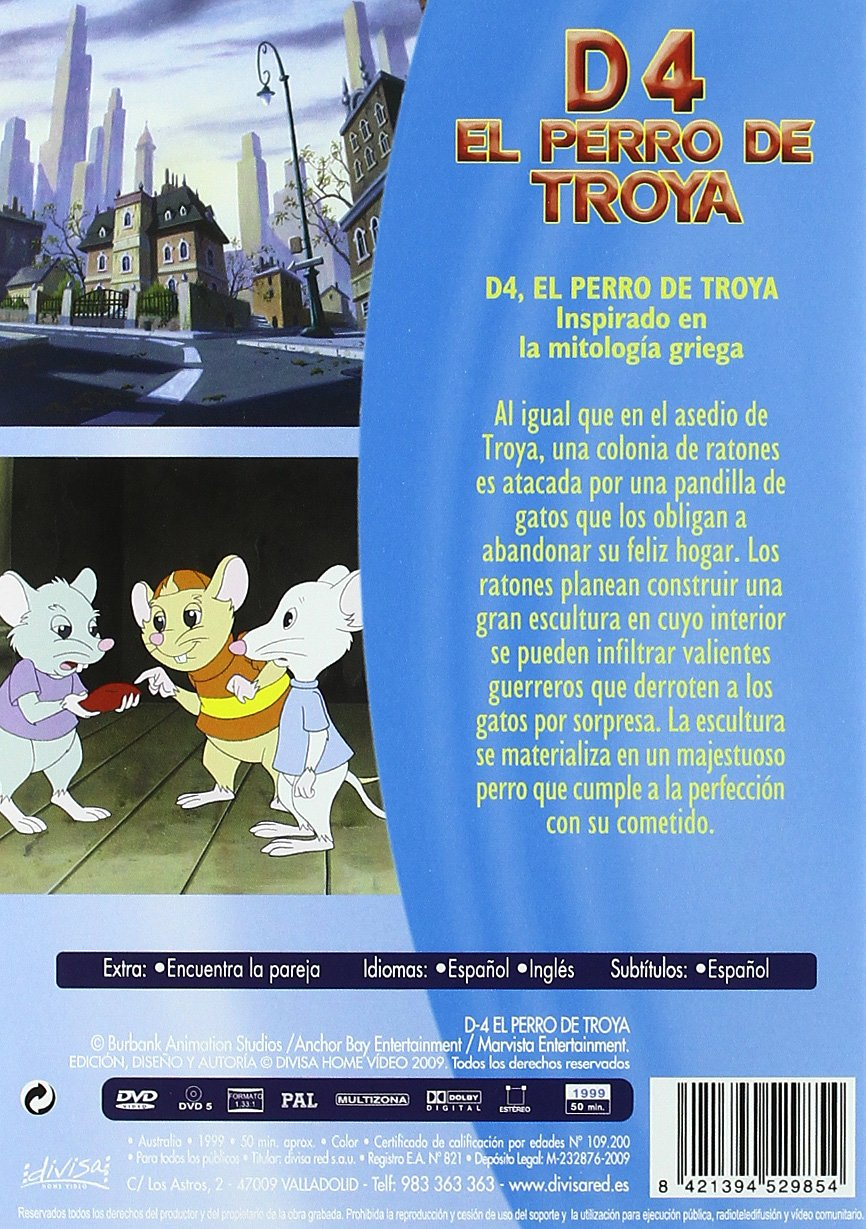 Amazon.com: El Perro De Troya (Import Movie) (European ...