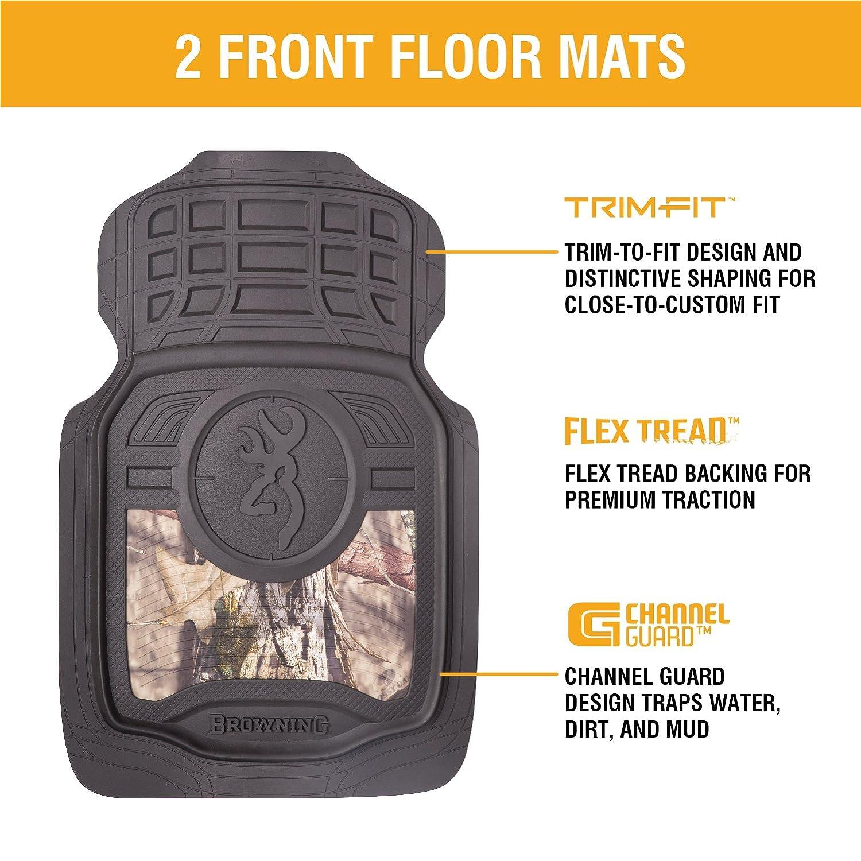floor truck car camouflage browning mat camo buckmark mossy s mats ebay auto itm pair oak