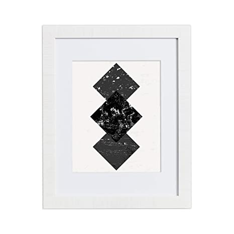 18x24 White Picture Frame   Matted For 12x18, Frames By Eco Home by Eco Home