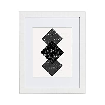 Amazoncom 18x24 White Picture Frame Matted For 12x18 Frames By