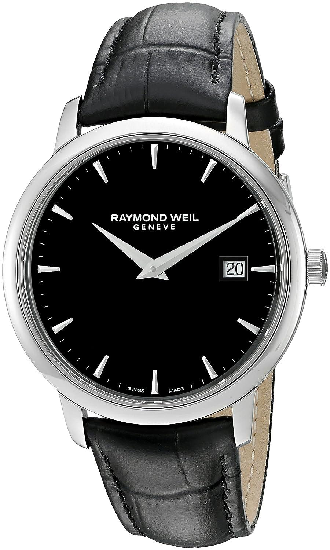 Raymond Weil Herren-Armbanduhr Toccata Analog Quarz Leder 5488-STC-20001
