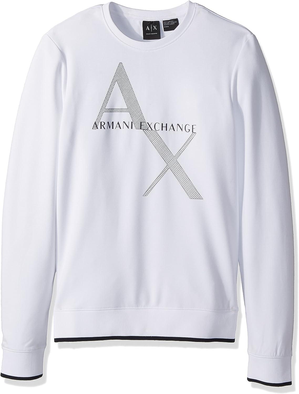 A X Armani Exchange Hombre Camisa deportiva - Blanco - XXL: Amazon.es: Ropa y accesorios