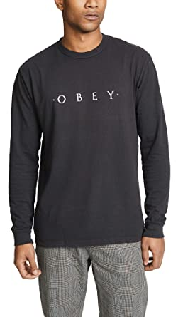 Obey - Sudadera - Nouvelle Crew - Negro (S)