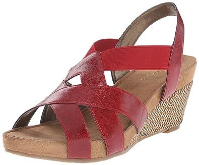 Womens Sandals Aerosoles Fire Light Red