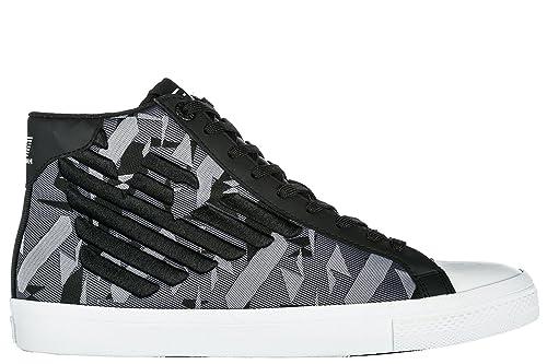 Emporio Uomo Ea7 Scarpe Armani Sneakers Nuove Alte Pride Jacquard 5R4AcL3qjS