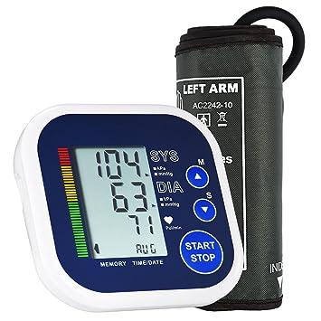 Mpow Tensiómetros de Brazo eléctrico,Monitor Presion Arterial ...